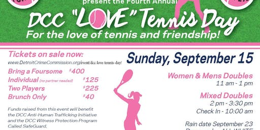 DCC Love Tennis Day