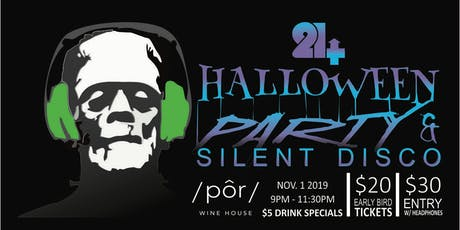 Trick or Beats - Halloween Party & Silent Disco tickets