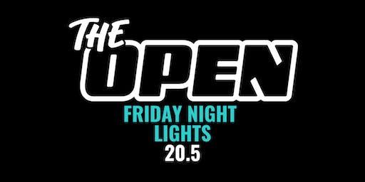 20.5 -- Friday Night Lights