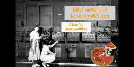 Talks from Women and Non-Binary AWS Users tickets