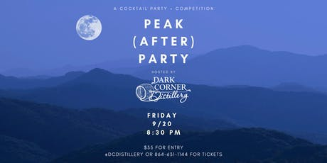 Peak (after) Party Cocktails & Competition tickets