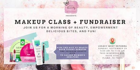 The Gift of Beauty: Makeup Class + Fundraiser tickets
