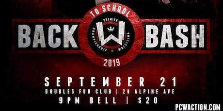 "PCW's ""Back To School Bash!"" tickets"