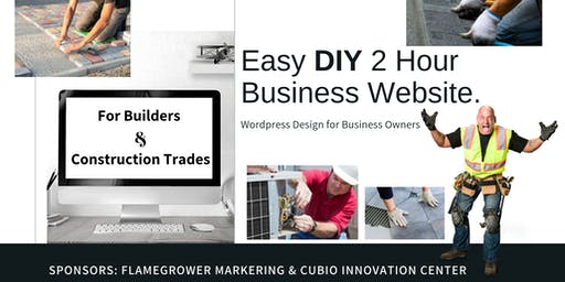 The Easy DIY 2 Hour Business Website. Wordpress Design for Business Owners
