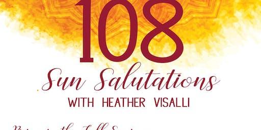 108 Sun Salutations | Fall Equinox