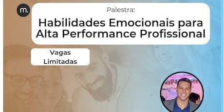 [Palestra 26/09] Habilidades Emocionais para Alta Performance Profissional ingressos
