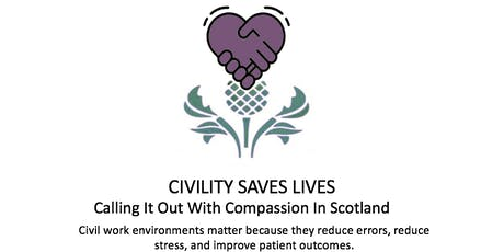 Civility Saves Lives Scotland - Introduction & workshop with Chris Turner tickets