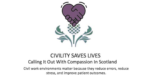 Civility Saves Lives Scotland - Introduction & workshop with Chris Turner