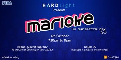 Marioke for One Special Day