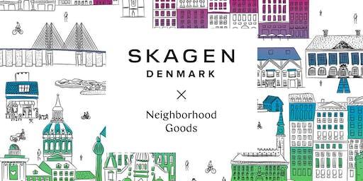 Skagen Pop-Up at Neighborhood Goods