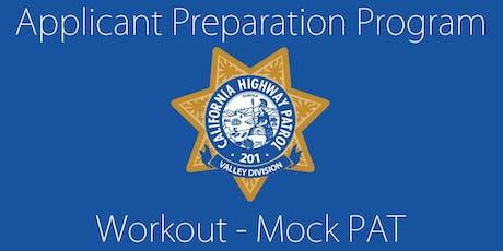 California Highway Patrol-Valley Division Applicant Preparation Program (APP) Mock PAT tickets
