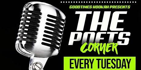 POSTPONED - The Poets Corner Open Mic tickets