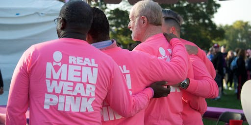 Real Men Wear Pink Reveal Party