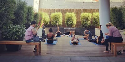 Yoga at South Park Commons