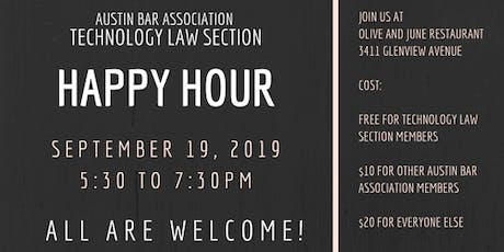 Technology Law Section Happy Hour tickets