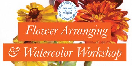 Flower Arranging & Watercolor Workshop tickets