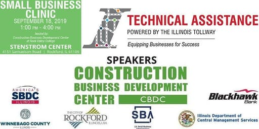 The 2019 Small Business Clinic | September 18th 1-4PM | Stenstrom Center, Rockford IL