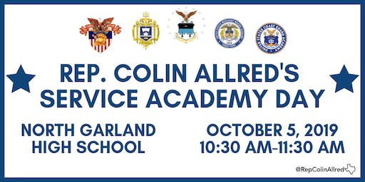 Rep. Allred Hosts Service Academy Day for 32nd District
