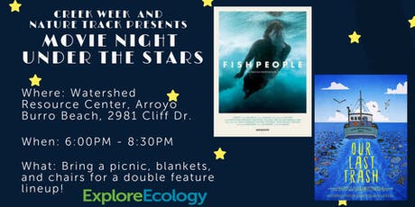 Creek Week Closing Celebration: Movie Night Under the Stars tickets