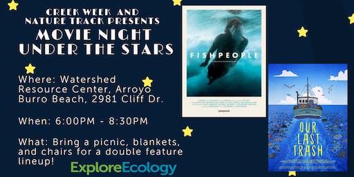 Creek Week Closing Celebration: Movie Night Under the Stars