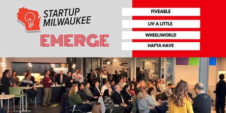 Startup Milwaukee EMERGE: September 2019 tickets