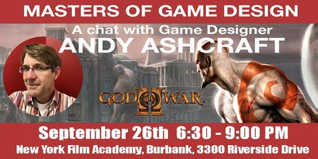 Masters of Game Design Speaker Series w/ Andy Ashcraft tickets