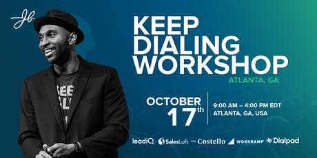 JBarrows Keep Dialing Workshop Atlanta tickets