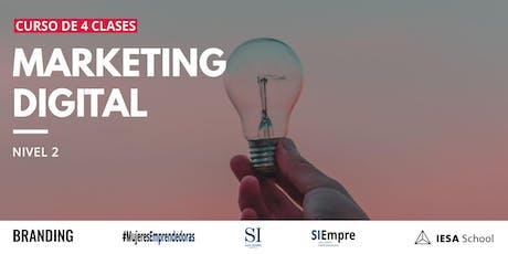 Curso De Marketing Digital Nivel 2 entradas