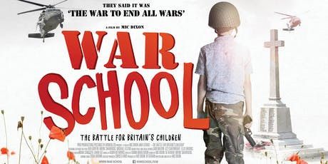Screening of WAR SCHOOL followed by Panel Discussion tickets