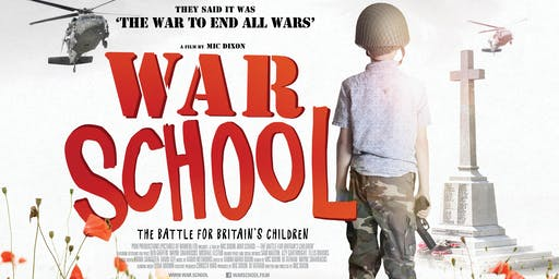 Screening of WAR SCHOOL followed by Panel Discussion