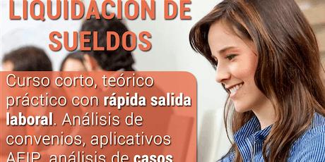 LIQUIDACIÓN DE SUELDOS Y JORNALES  III entradas