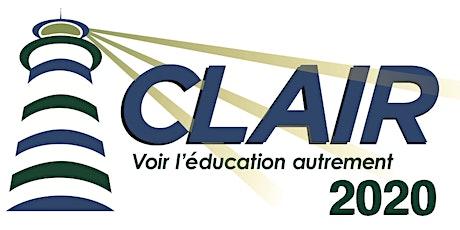 Clair2020 ; Voir l'Éducation autrement ! billets