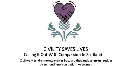 Civility Saves Lives Scotland - Train the Trainers with Chris Turner tickets