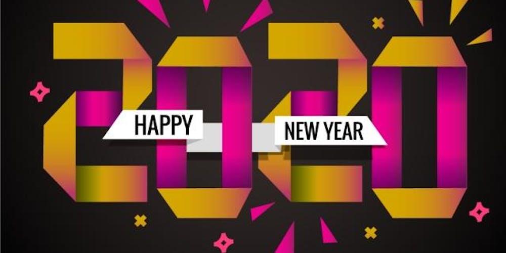 2020 Happy New Year.Happy New Year 2020
