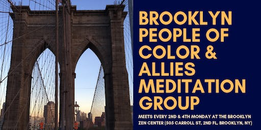 Brooklyn People of Color & Allies - Bimonthly Meditation