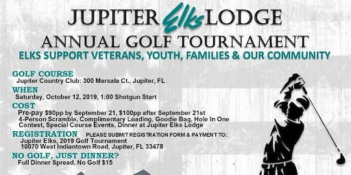 Jupiter Elks Lodge #2469 Annual Golf Tournament