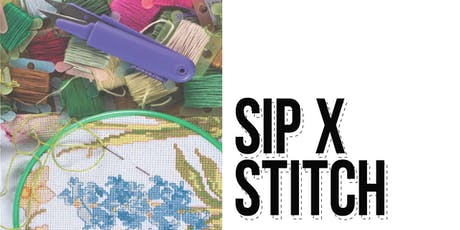 Sip + Stitch  tickets