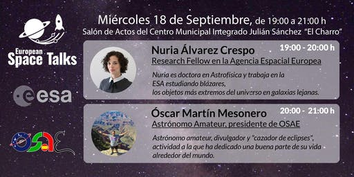 Space Talks en Salamanca