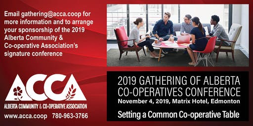 2019 Gathering of Alberta Co-operatives Conference and MLA Reception