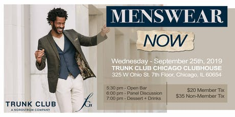 FGI Chicago & Trunk Club Present: Menswear NOW Panel & Networking tickets
