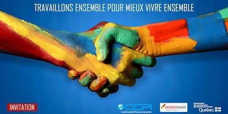 Dîner-conférence du Comité consultatif personnes immigrantes(CCPI) billets