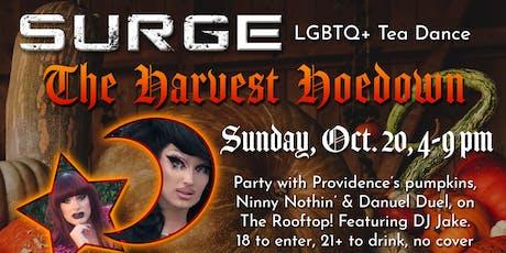 "Surge - LGBTQ+ Tea Dance - ""The Harvest Hoedown"" tickets"