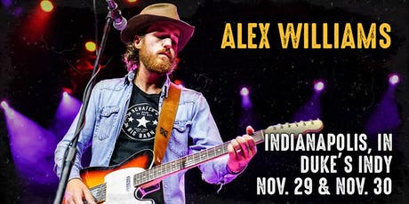 Alex Williams presented by 99.1 FM Rhinestone Country FRIDAY tickets