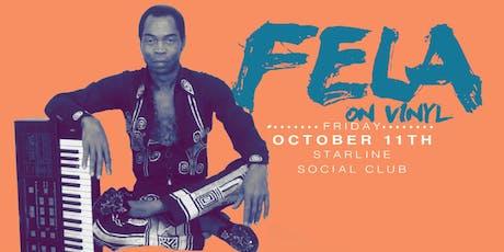 4th Annual Fela On Vinyl Oakland Felabration! tickets