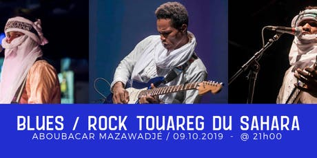 Blues Rock Touareg - Aboubacar Mazawadjé billets