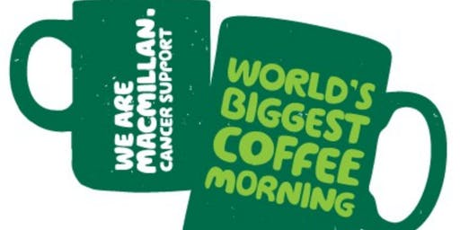 Macmillan Coffee Morning with Thermomix