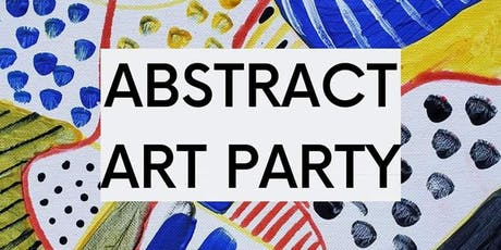Abstract Art Party tickets