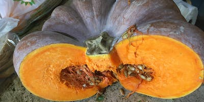 Italian cooking class: Three ways to cook a squash: Risotto, Caponata, Soup