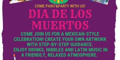 Día de los Muertos Painting Party tickets