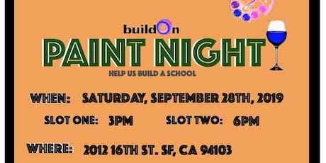 BuildOn Paint Night (6pm slot) tickets